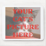 Customized Your Cat's Photo Mousepads