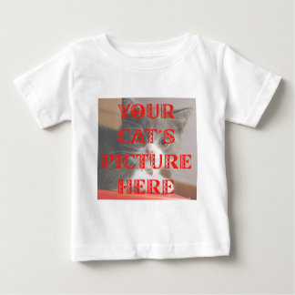 Customized Your Cat's Photo Shirt