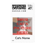 Customized Your Cat's Photo Stamp