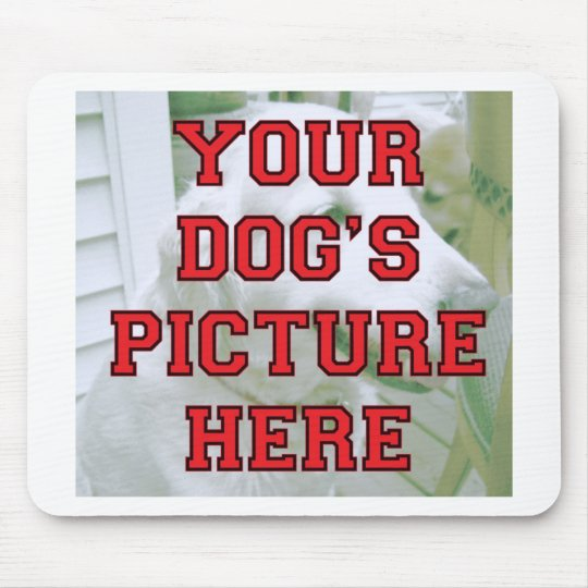 Customized Your Dog's Photo Mouse Pad