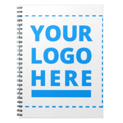 Customized Your Logo Here Notebook