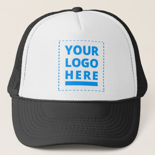 Customized Your Logo Here Trucker Hat