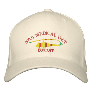 Customized Your Unit UH1 DUSTOFF Embroidered Hat