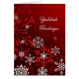 Customized Yuletide Christmas Card