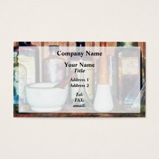 CustomizMortar and Pestle and Pestlee Product Business Card
