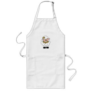 customlambflowers long apron