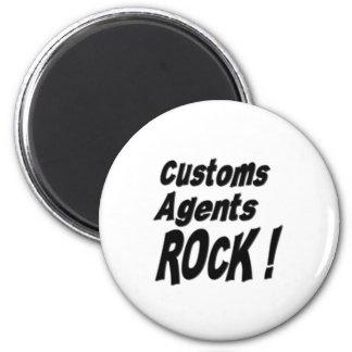 Customs Agents Rock! Magnet
