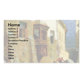 Customs Station In Zirl In Tyrol (Two Tours) Business Card