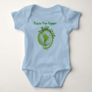 Custon Infant Creeper One Piece Future Tree Hugger