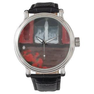 Custon vew wrist watch