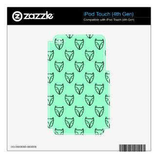 Custum Fox Pattern Woodland Cute Decals For iPod Touch 4G