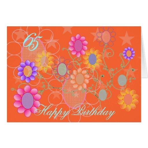 Custumizable Happy Birthday Greeting Card