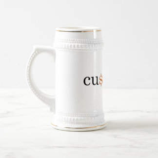 Custy Noob Productions Beer Stein