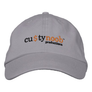 Custy Noob productions hat Embroidered Baseball Cap