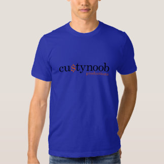 Custy Noob Productions Tee Shirt