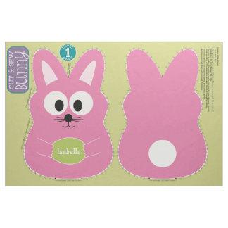 Cut and Sew Customized Easter Bunny Stuffed Animal Fabric