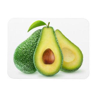 Cut avocados rectangular photo magnet