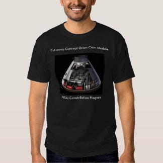 Cut-away Concept Orion Crew Module T-shirt