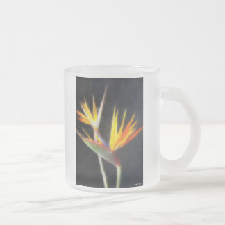 Cut Bird of Paradise Flowers 2 Watercolor Coffee Mug