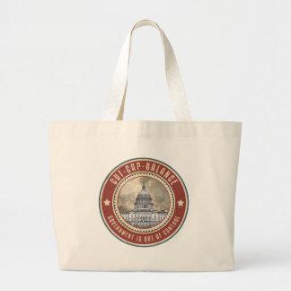 Cut Cap And Balance Tote Bag