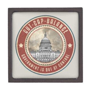 Cut Cap And Balance Premium Keepsake Box