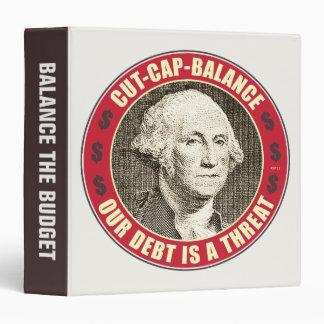 Cut Cap Balance 3 Ring Binder