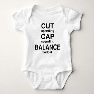 Cut Cap Balance Baby Bodysuit