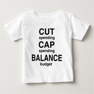 Cut Cap Balance Baby T-Shirt