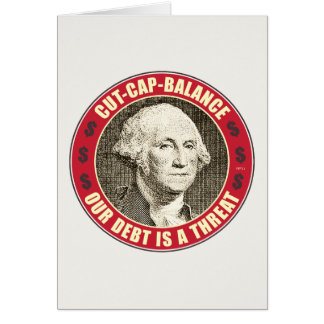 Cut Cap Balance Card