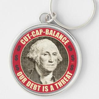 Cut Cap Balance Keychain