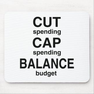 Cut Cap Balance Mouse Pad