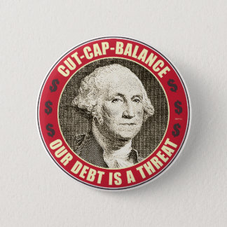 Cut Cap Balance Pinback Button