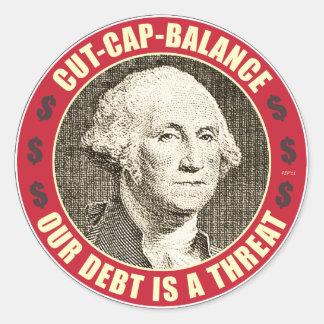Cut Cap Balance Sticker