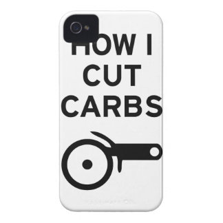 Cut Carbs iPhone 4 Case