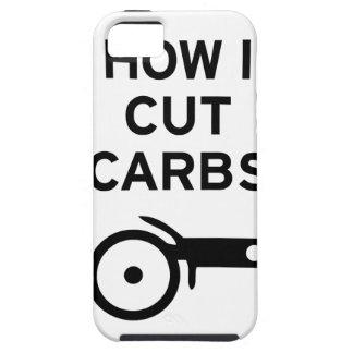 Cut Carbs iPhone SE/5/5s Case