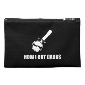 Cut Carbs Pizza Cutter Travel Accessory Bag