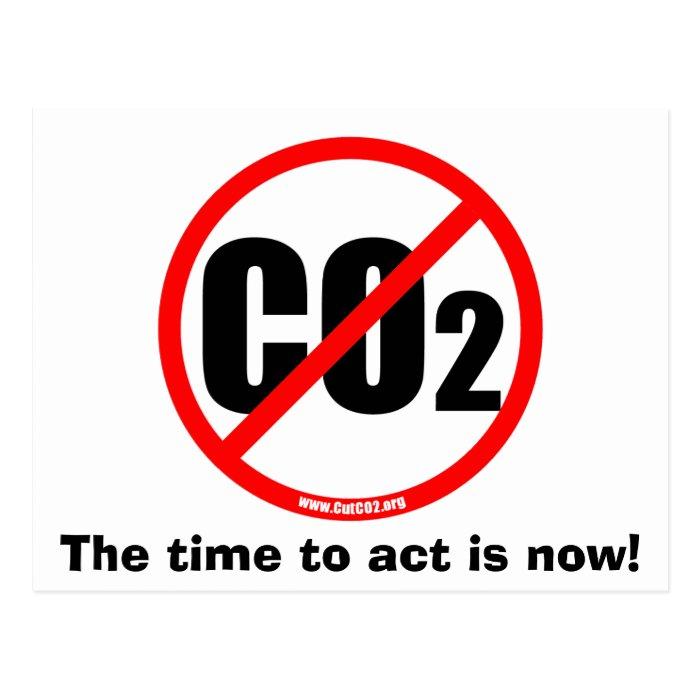 Cut CO2 Postcard