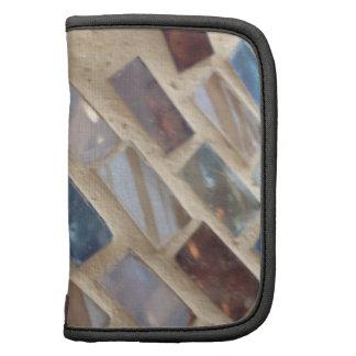 cut colored glass mosaic organizer