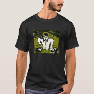 cut dj drawing graff T-Shirt