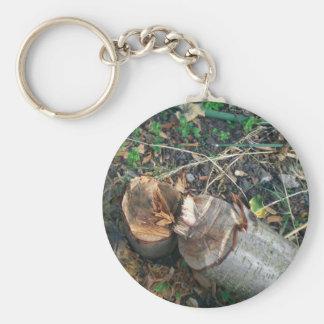 Cut Down Plum Tree Keychain
