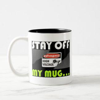 CUT-EXPRESS © Voltage Mug