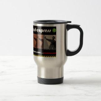 CUT-EXPRESS © Voyager Steel Mug