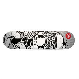 Cut Finger by Alessio Manfredini Custom Skateboard