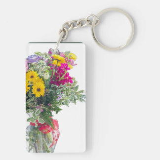 Cut Flower Bouquet Keychain