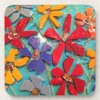 Cut flower coasters