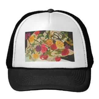 cut flowers trucker hat