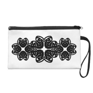 Cut Glass and Arches Trinity Wristlet Purse