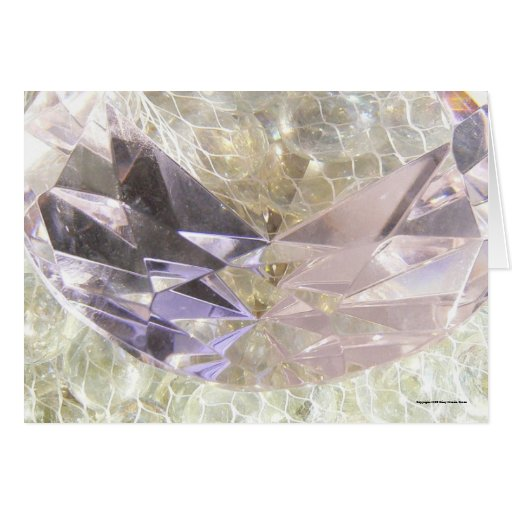 Cut Glass and Marbles Greeting Cards