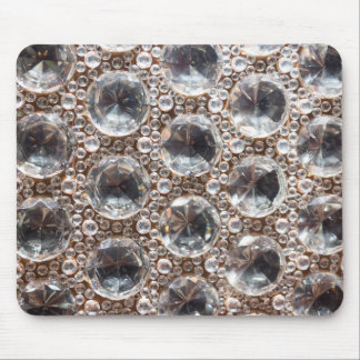 Cut Glass Beads Mouse Pad