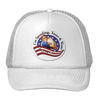 Cut Government Trucker's Hat